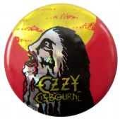 Ozzy Osbourne - 'Bark at the Moon' Prismatic Button Badge